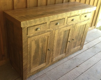 Aged Oak Buffet