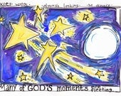 Bible Verse God's Fleeting Moments Gratitude Illustrated Watercolor Print