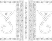 Custom Order - A4 Black Book & Gold Leaf - Final Payment