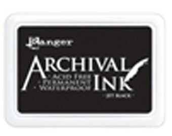 Ranger Archival Ink Pads - JET BLACK