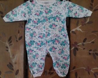 Baby Nordstrom's roses onesie