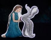Pandora. Handpainted Greek Mythology Art Doll by Aly Parrott on Etsy. Ready to ship.