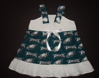 NFL Philadelphia Eagles Baby Infant Toddler Girls Dress  You Pick Size