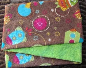 Alien Friends, *** STAGE 2*** Children's G Tube Belly Band Wrap, (waist size 20-22 inches)