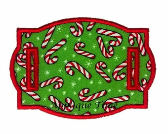 Instant Download ITH Charm Frame 16 Machine Embroidery Applique Design 4x4, 5x7 and 6x10
