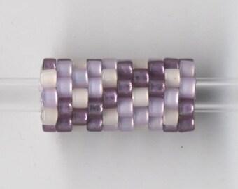 Woven Glass Bead Tube ... ... ... ... ... ... 6mm/o-2mm/i ... ... ... ... ... 10x08 * 335