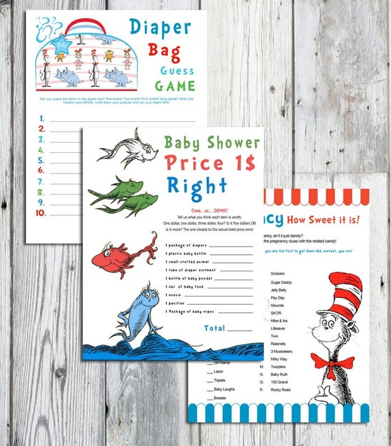 dr seuss inspired baby shower games choose one printable game ten