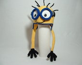Custom listing for Sheril Kevin Fun Minion Hat Big 3 D Goggles and 1eyed Minion hat