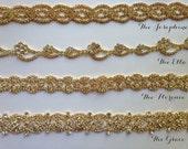 Gold bridal sash, Wedding sash, Vintage Style Rhinestone Diamond Sashes, Ribbon or Hook & Eye closure, Vintage Style Gold Accessories