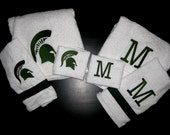 Fun 3 pc Towel Set -Bath Towel, Hand Towel and Washcloth. . .personalized FREE for you