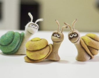 Felt toys - Felt doll - Handmade toys - Needle felting - Figurines - Eco friendly - Personalised gifts - Gifts for her - gifts for men