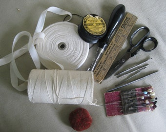 Vintage sewing supplies ~ instant collection