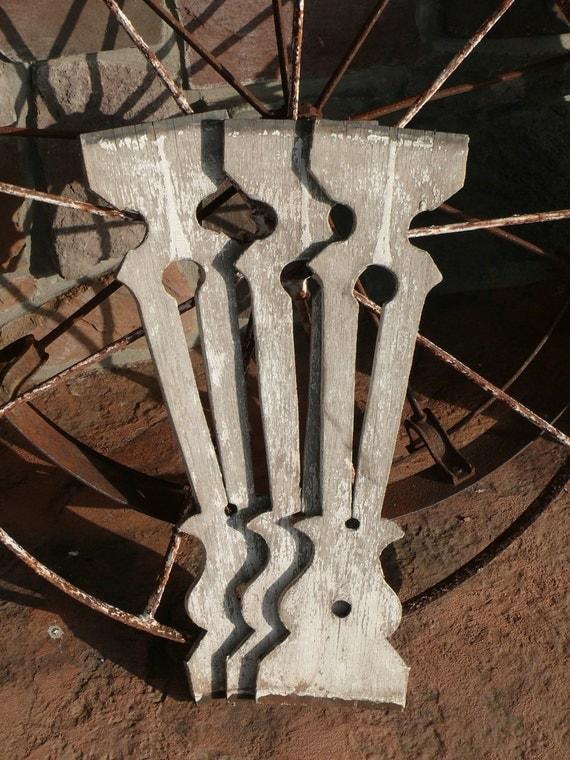 Antique Victorian Front Porch Railing Fretwork