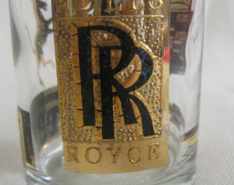 Vintage RARE Luxury Cars Shot Glass
