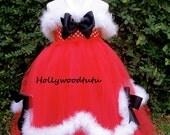baby girl Christmas tutu dress