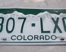 Supplies Colorado  License Plate