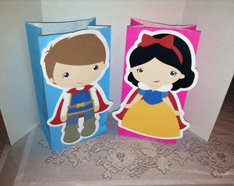 Cute Little Kids Dressed Up as Prince and Princess Goody Bags