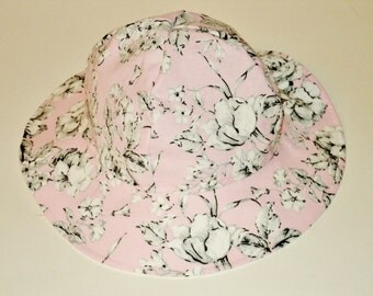 Baby Sun Hat - Baby Gift - Toddler Sunhat - Cotton Sun Hat - Baby Girl Sun Hat - Summer Hat - Made To Order - Size Newborn To 7 Years