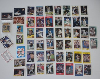 Pittsburgh Pirates Baseball  Trading Cards Vintage Lot of 55 Cards