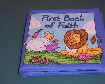 The First Book of Faith Cloth Baby Book