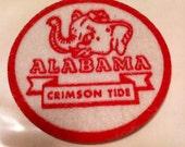 University of Alabama Vintage Felt Patch