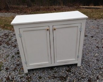 Small Sideboard, Small Buffet, Painted Sideboard, Buffet, Sideboard, Storage Cabinet, Pantry Ideas