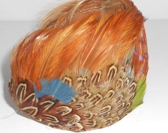 Hats,Vintage Ladies Hat, Feather Hat,1930s Accessories