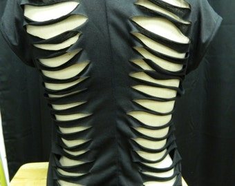 Spinal shredded shirt, you choose color, and size