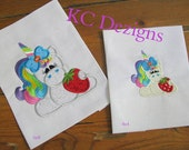 Cool Treat Unicorn 02 Machine Applique Embroidery Design - 4x4, 5x7 & 6x8