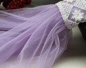 lavender tulle fabric, gauze tulle lace fabric, grenadine fabric, light purple mesh fabric for tutu, veils