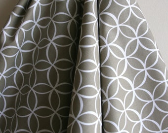 Tile Pile in Dirt by Michael Miller Fabrics -  ONE HALF YARD Cut