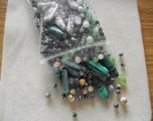 DESTASH - Gemstone Beads - 1+ lbs - Variety of Genuine Gemstone Beads