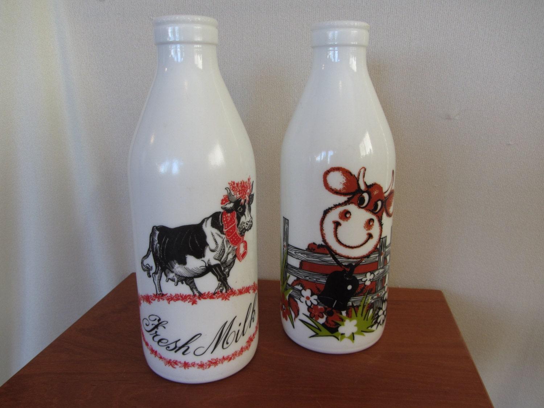 Italian Milk Glass Bottles By Theeverlastinggarden On Etsy