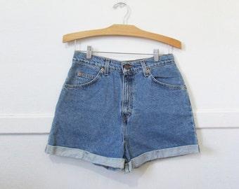 Levi's Jean Shorts Vintage 80s 90s Orange Tab 30 x 3