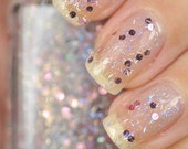 Starstruck Silver Holographic Bar Glitter Nail Polish 15ml (.5oz)