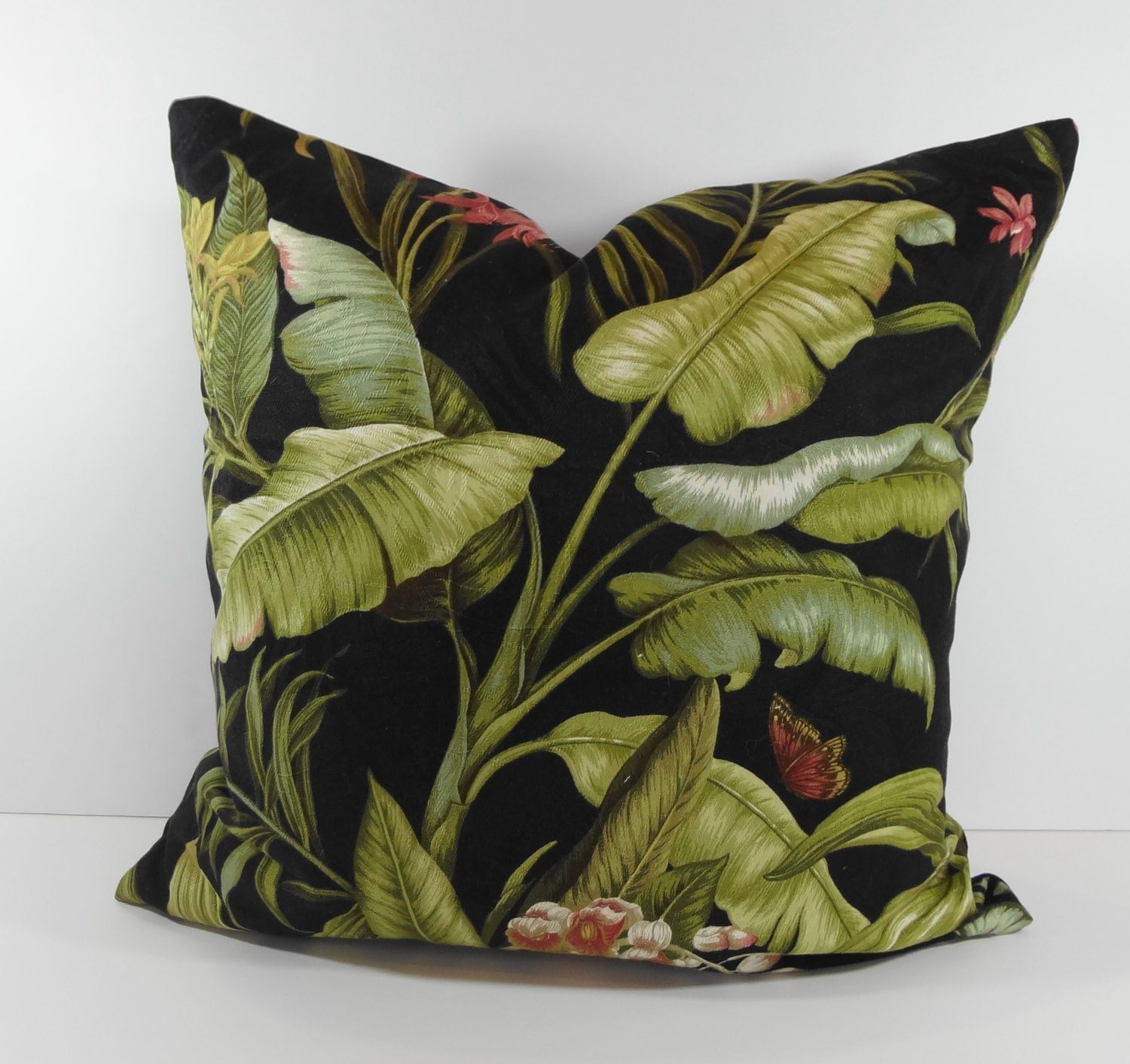 Tommy Bahama Designer Tropical Pillow Cover Decorative Throw