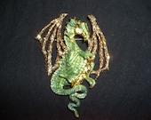 Draco Dragon, Kirk's Folley  brooch