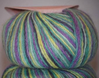 SALE 10% Off  1x25g/0.88oz PURE  ANGORA Wool, Novangora, Worsted Yarn by Nova, Canada, #3838