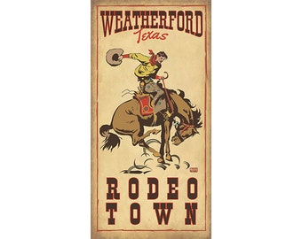 Rodeo Weatherford, Texas