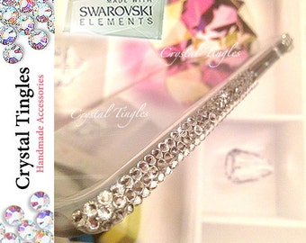 Bling Elegant Sparkle Diamond Beautiful Simple Elegant Design Made w/ 100% SWAROVSKI Elements Crystal Case For iPhone 6s - 4.7 inch