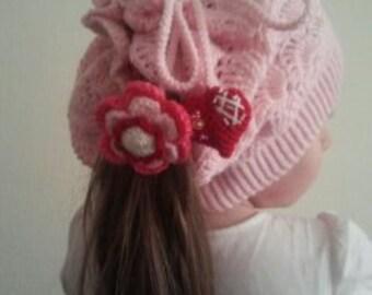Slouchy Hat Crochet Slouch Girls Hat Beanie Slouchy Hat Girls Hat Knitted Oversize Hat Slouchy Beanie