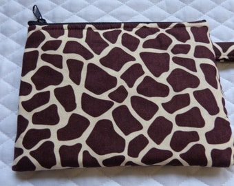 Makeup Bag:Giraffe