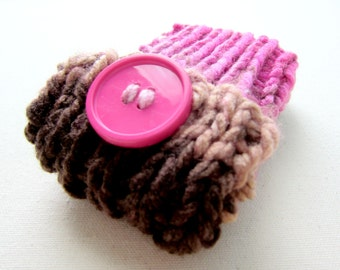 Knit IPhone Case Cell Phone Cozy Android Pouch Knitted Galaxy S5 Sleeve Crochet Gadget Accessory Handmade Accessories Techy Gift Ideas Pink