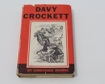 Vintage 1960s Davy Crockett Book Club Edition