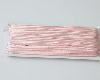 5.5 yards soft pink Soutache Braid, Passementerie Braid, Passementerie cord, Passementerie Trim, Soutache cord, Soutache Jewelry supplies