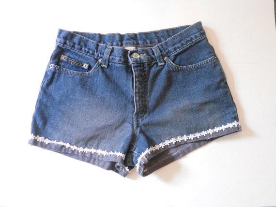 denim micro shorts - photo #13
