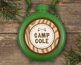 Canteen Labels - Camp Theme - Printable