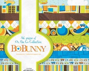 Bo Bunny ON The GO 6x6 paper pad BoBunny paperpad 6 x 6