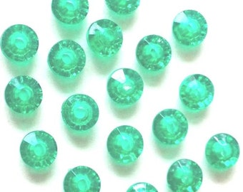 6mm Green Rondelle Beads (1,000 Beads)