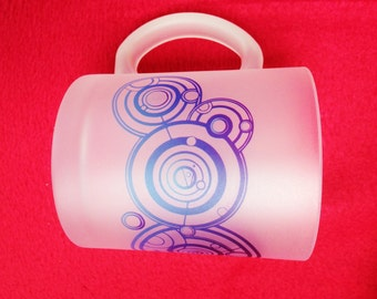 Doctor Who Your Name in Gallifreyan Personalised  Frosted Mug